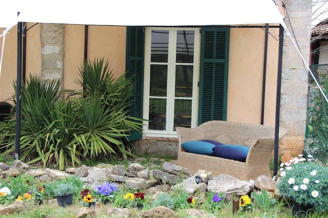 Provencal Farmhouse barn apartment terrace and garden