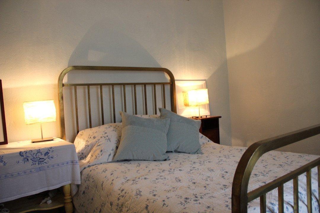Provençal Farmhouse-Paint provence with Tess Barn apartment bedroom
