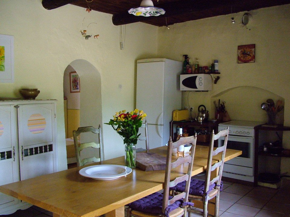 provençal farmhouse rustic kitchen has everything you need.