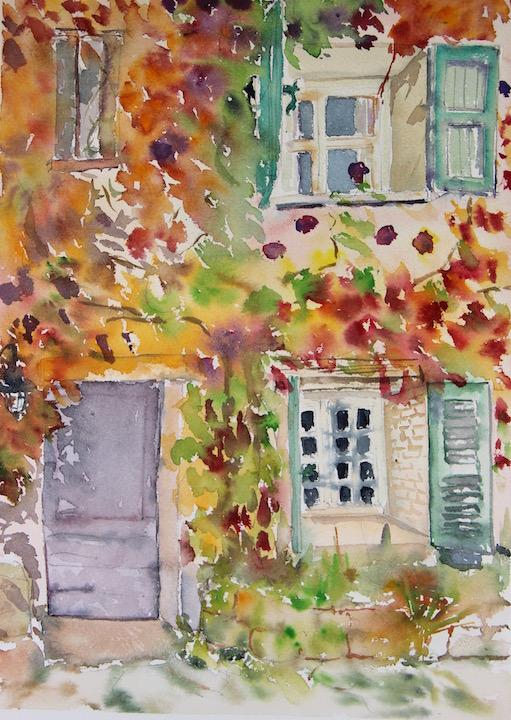 Paint Provence with tess our house