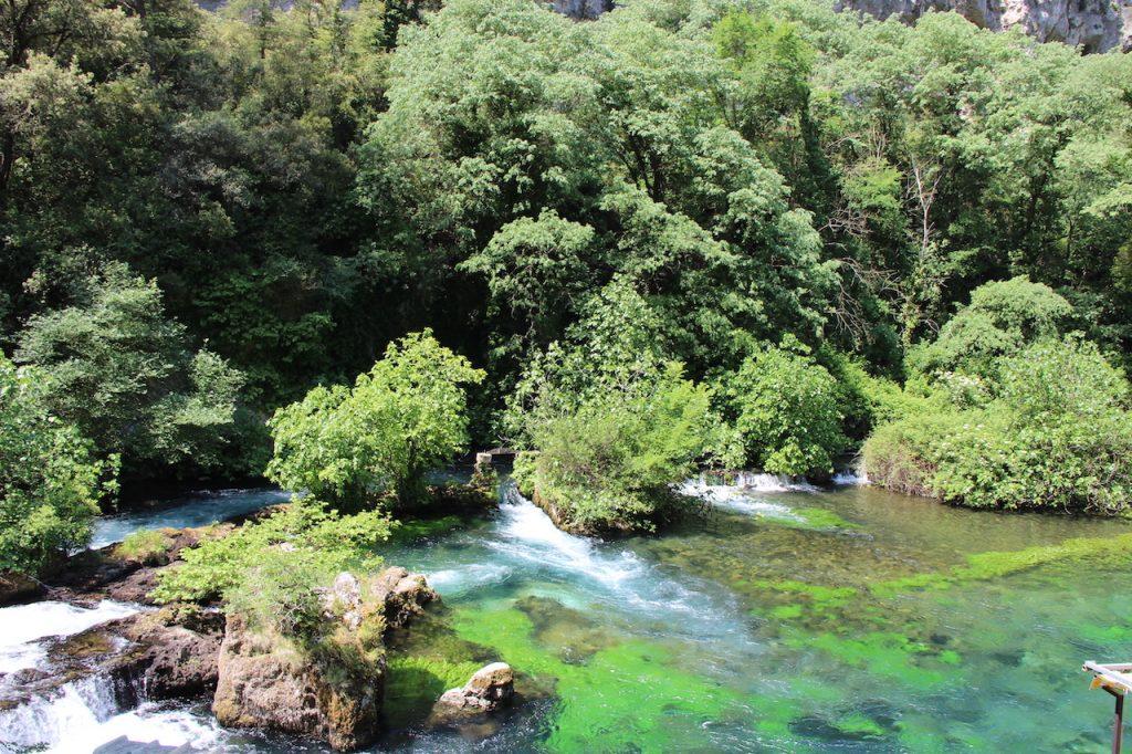 Fontaine de Vaucluse en Provence