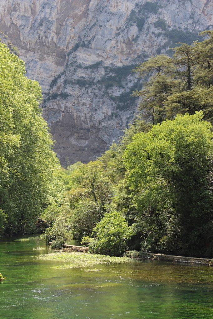The Source at Fontaine de Vaucluse