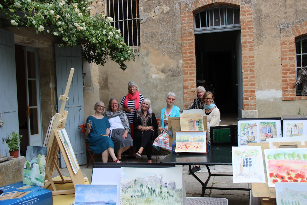 Art courses in provence